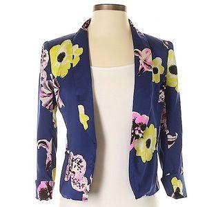 J. CREW Floral Blazer